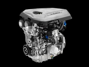 Нові турбовані двигуни від Volvo