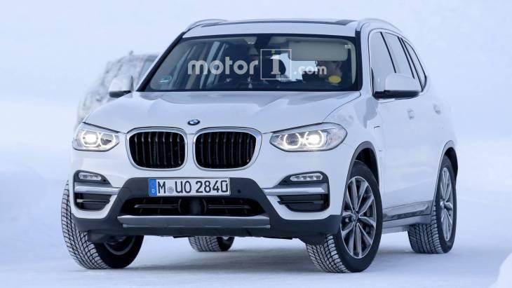 Електричний BMW iX3 вперше помічений на тестах