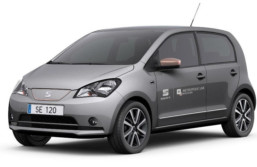 Компанія SEAT показала новий електромобіль