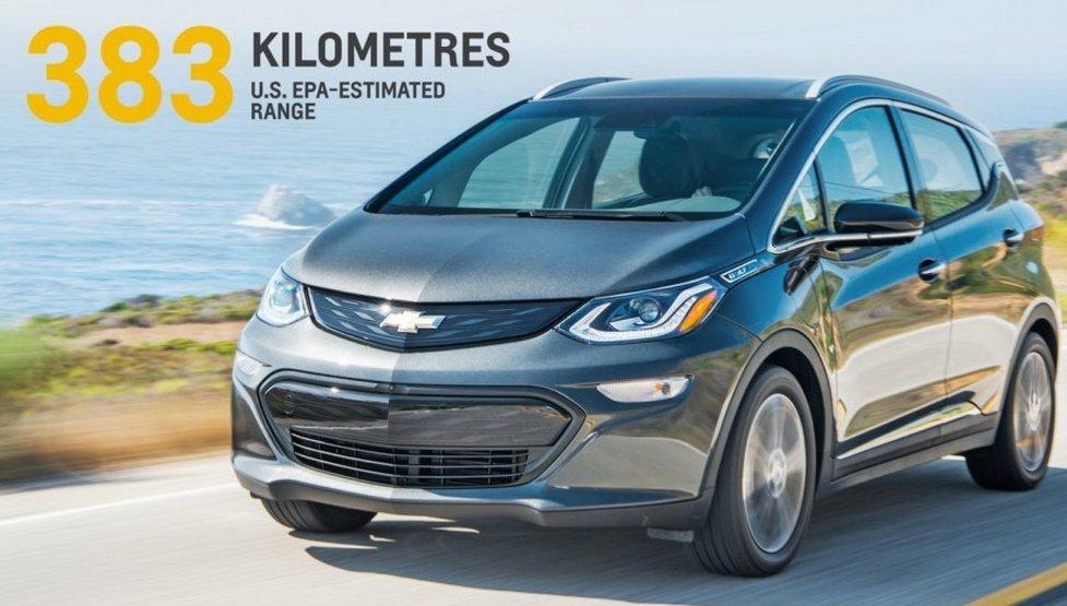 Електромобіль Chevrolet Bolt: відома ціна