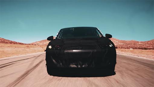 Кроссовер-конкурент Tesla Model X: перше відео новинки