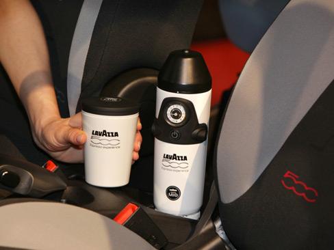 Fiat 500L отримає кавоварку