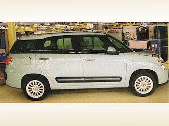 Fiat 500 став семимісним