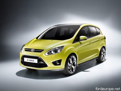Ford C-Max отримав відмінну оцінку за безпеку