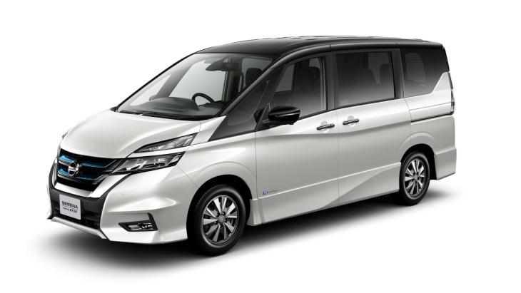Nissan представив гібридний мінівен