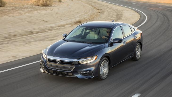 Гібридний седан Honda Insight нового покоління вийшов на ринок