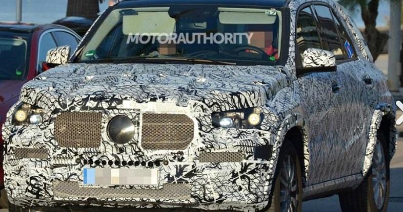 Mercedes тестує новий позашляховик