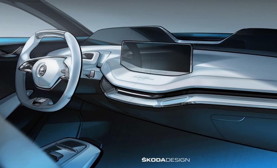 Skoda показала свій перший електромобіль