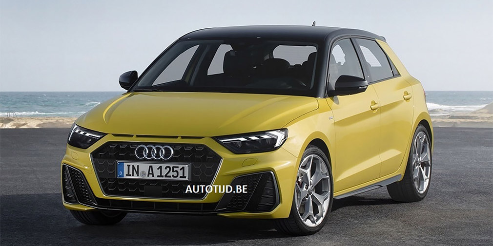 Новий Audi A1 розсекречено достроково