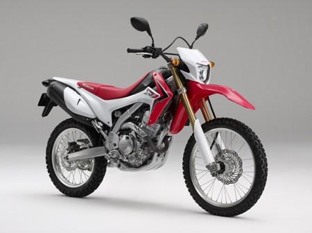 Honda представила багатоцільовий CRF250L