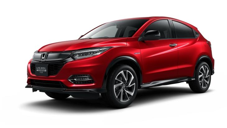 Honda розсекретила оновлений кросовер Vezel