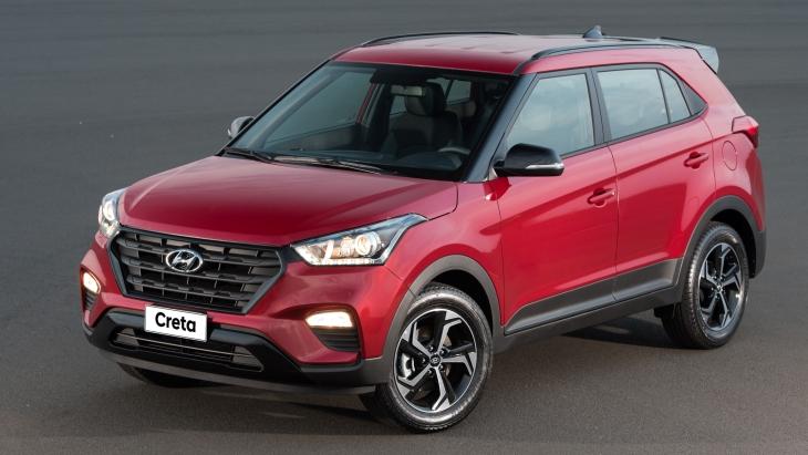 Hyundai представила «спортивний» кросовер Creta Sport
