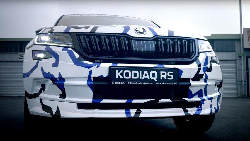 Skoda Kodiaq RS встановив новий рекорд