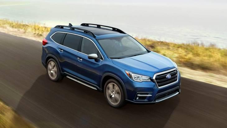 Subaru Ascent 2019: компанія представила 3-рядний кросовер