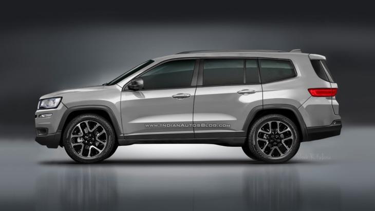 Новий семимісний Jeep: перше зображення