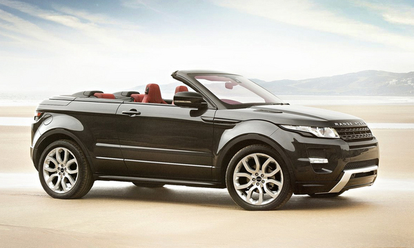Land Rover Evoque в кузові