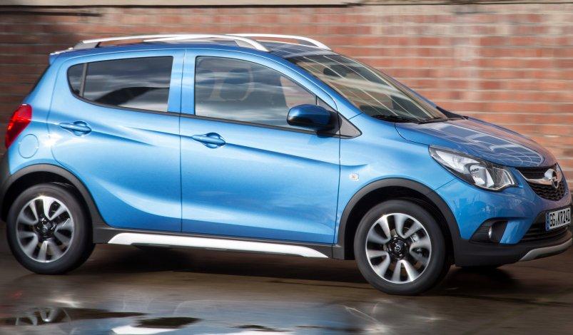 Opel Karl Rocks: названо ціни на кроссовер