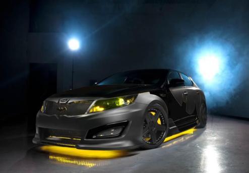 Kia Optima - автомобіль для бетмена