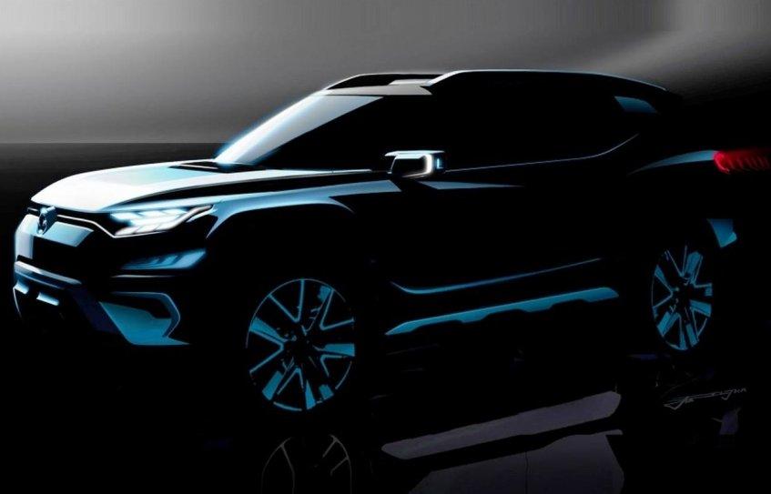 Компанія SsangYong показала зображення нового позашляховика