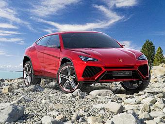 В інтернеті розсекретили зовнішність позашляховика Lamborghini