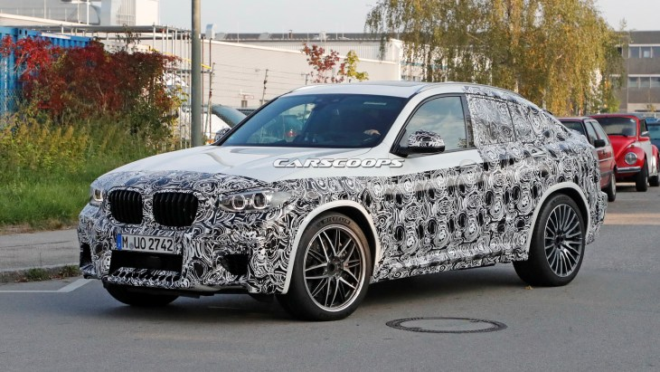BMW X4 M: тестує