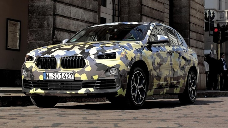 Кросс-купе BMW X2 розсекречено