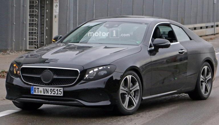Купе Mercedes-Benz E-Class 2018 показався на публіці