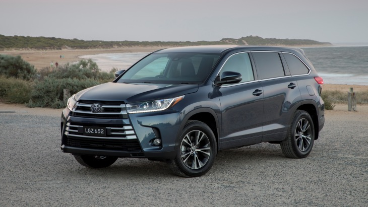 Toyota поліпшила позашляховик Highlander
