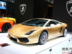 Дебютував Lamborghini Gallardo LP560-4 Gold Edition
