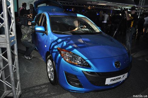 Нова Mazda3 вже в Україні
