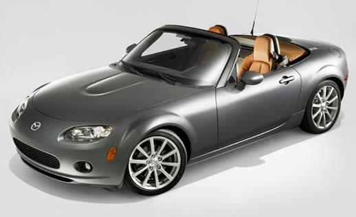 Найекономічніший кабріолет - Mazda MX5