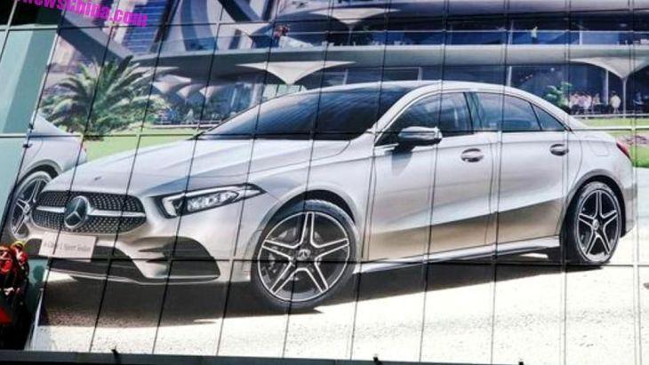 Mercedes-Benz A-Class Sedan 2019 розсекречено