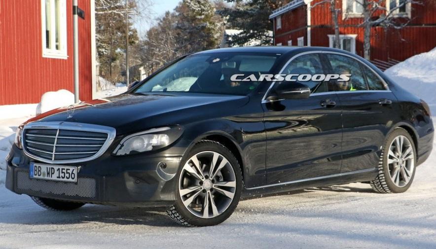 Mercedes C-Class 2018 року: фінальні тести і нові фото