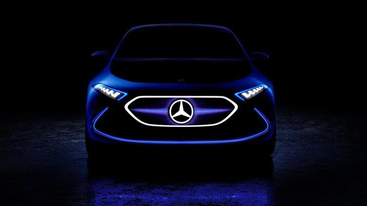 Електричний кросовер Mercedes-Benz EQ C дебютує в Женеві