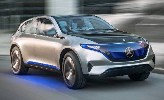 Mercedes-Benz Generation EQC: стартували продажі електричного кросовера