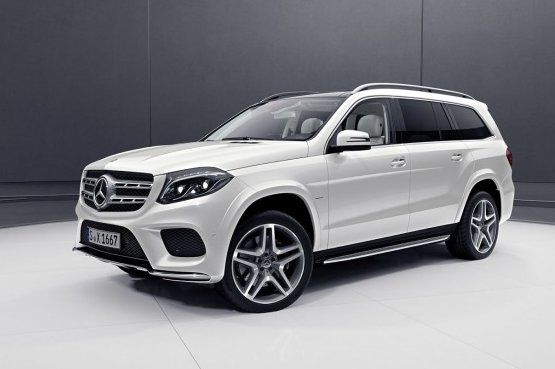 Mercedes представив новий позашляховик GLS