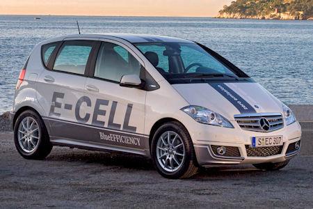 Новий електромобіль Mercedes-Benz A-класса E-Cell