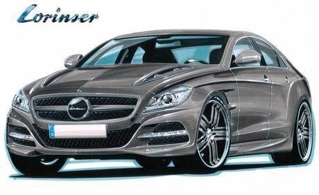 Новий тюнінгований Mercedes-Benz CLS