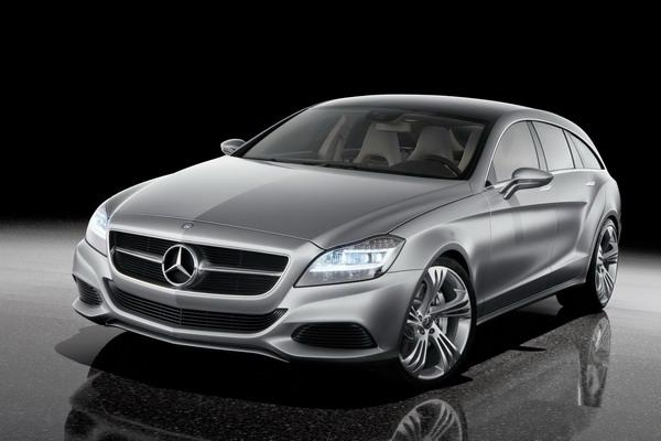 Mercedes-Benz Shooting Break - майбутній універсал CLS