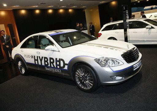 Mercedes-Benz S-класу стане гібридом