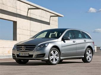 Mercedes-Benz показав новий R-Class