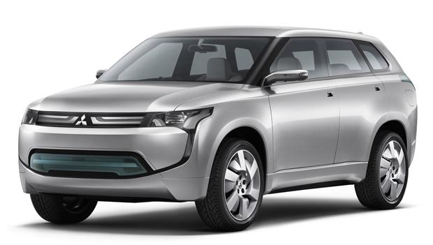 Перший гібрид Mitsubishi з'явиться в 2013 році