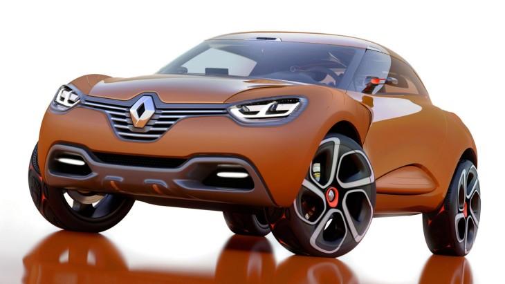 Модельний ряд Renault поповниться новим кросовером B-класу
