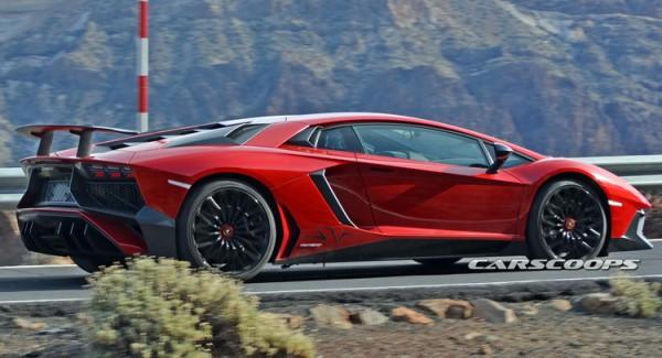 Шпигунські фото найпотужнішого Lamborghini Aventador