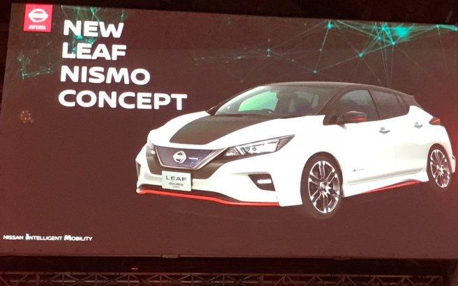 Nissan Leaf 2018 отримає нову версію