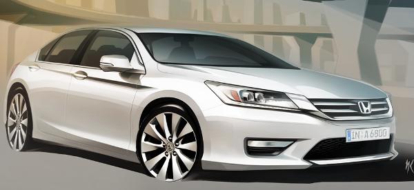 Нова Honda Accord - перші малюнки
