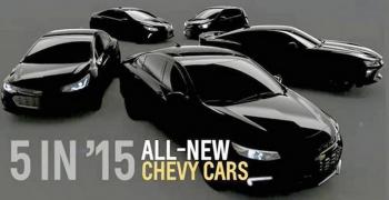 Chevrolet: 5 новинок 2015 року