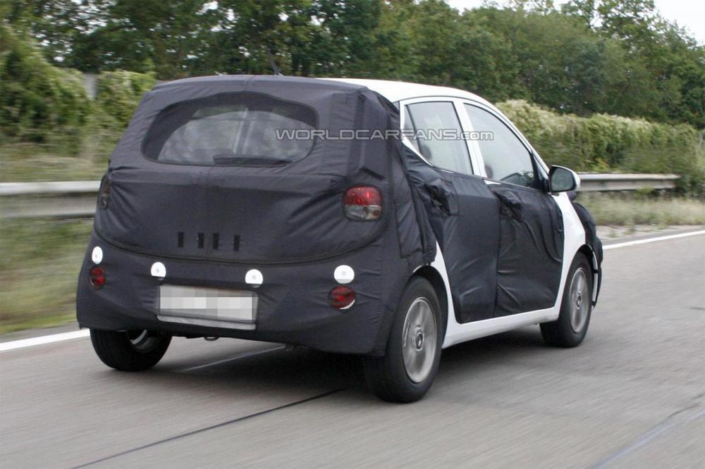 Новий Hyundai i10 проходить тести