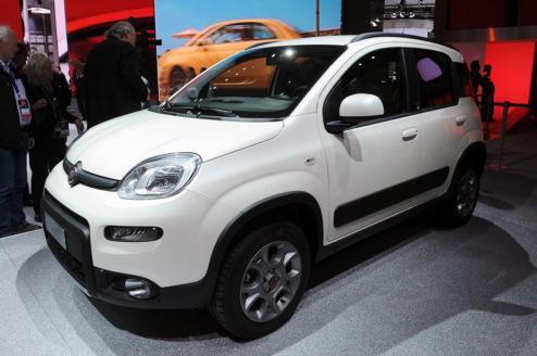 Повнопривідний Fiat Panda представлений публіці