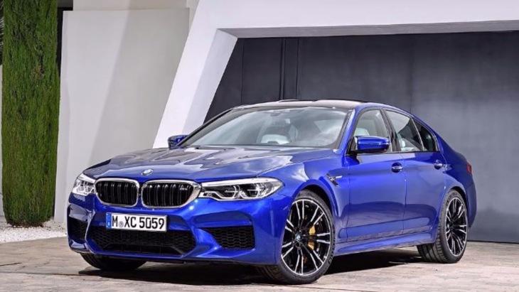 Новий BMW M5 розсекретили в мережі